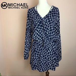 New MICHAEL Michael Kors Giraffe Print Dress